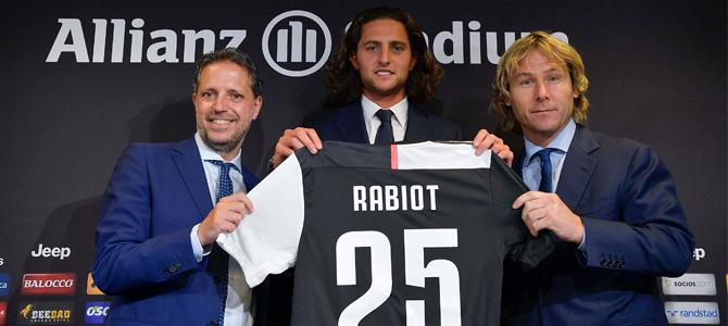 Rabiot, su juego empieza a brillar en la Juventus