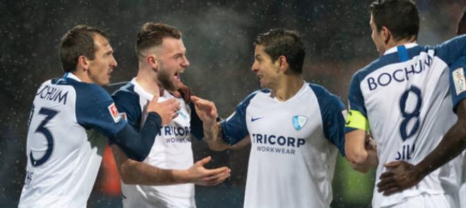Christian Gamboa y el Bochum: líderes solitarios de Bundesliga 2