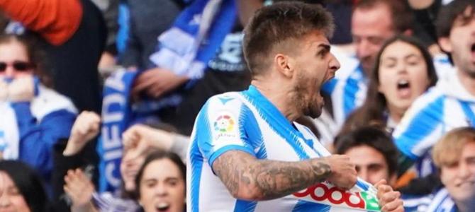 La Real Sociedad acerca al Espanyol a segunda división
