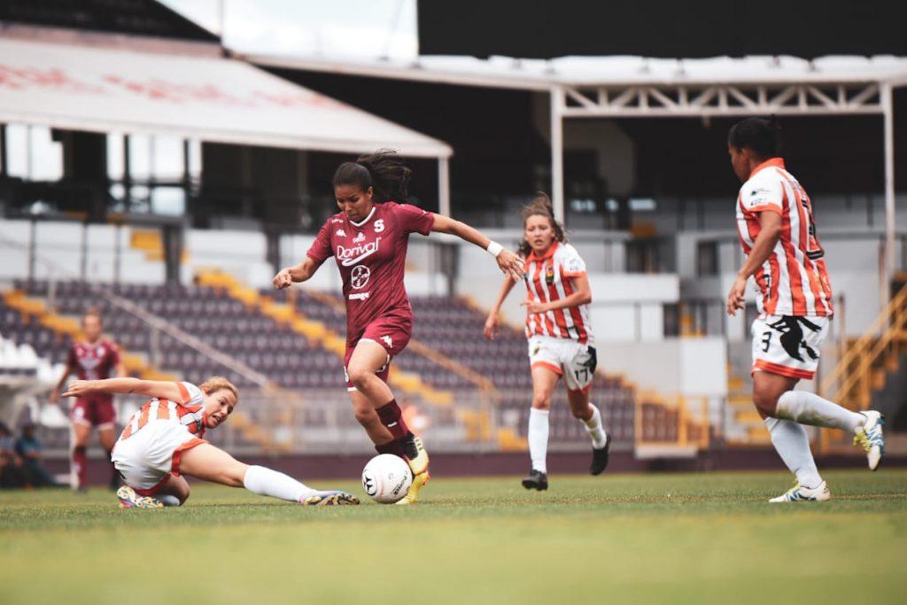 Carolina Tabash: «El primer gol nos bajó el ánimo»