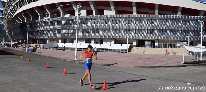 México presente en el Campeonato Nacional de Marcha con su estrella Alegna González