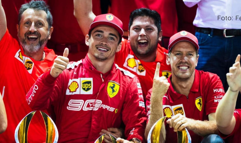 El piloto monegasco de F1 Charles Leclerc da positivo al covid-19