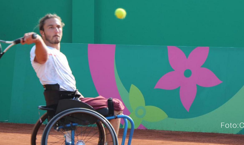 Paratenista José Pablo Gil avanza en dobles en Turquía
