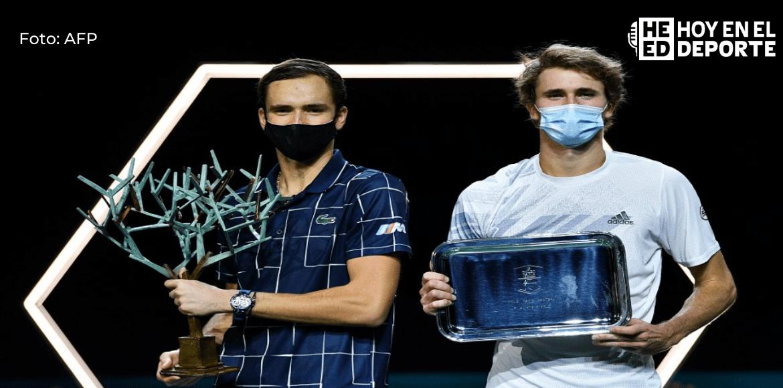 Medvedev remonta a Thiem y es el nuevo maestro del tenis mundial