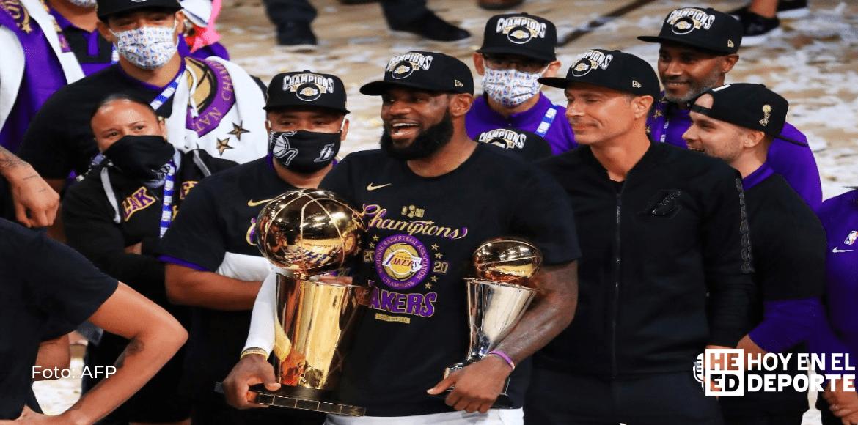 La NBA arrancará la pretemporada con Lakers vs Clippers el 11 diciembre