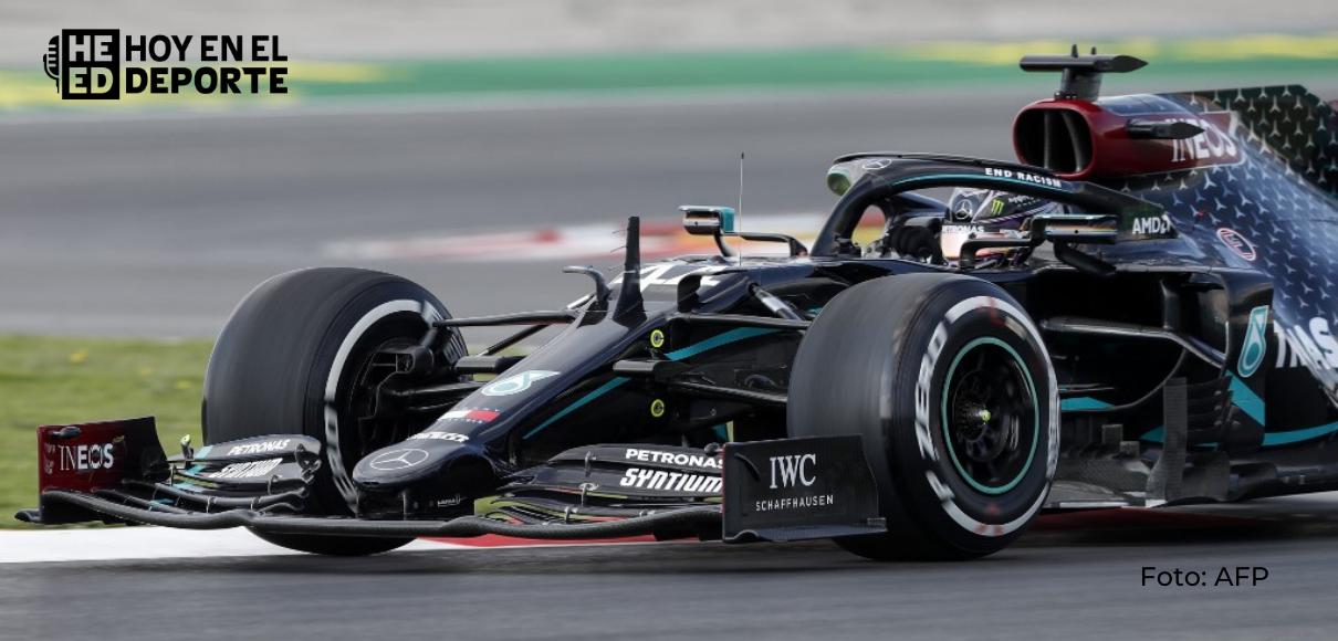 Hamilton firma la pole position del GP de Baréin