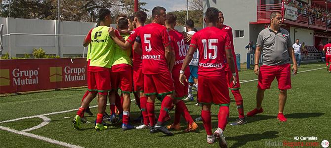 Carmelita volvió a la victoria y llenó de goles a Marineros