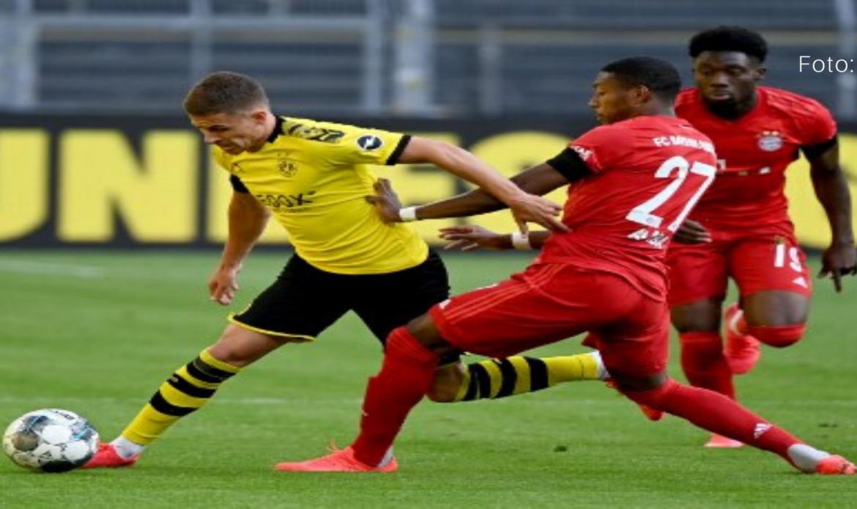 Bayern recibe a Dortmund en 'Klassiker' alemán con RB Leipzig al acecho