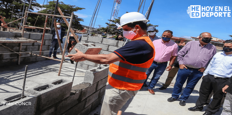 Colocan primera piedra de  Centro Acuático Pedagógico en Pavas
