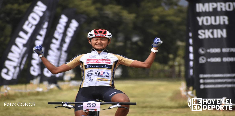 La ciclista Milagro Mena es la monarca de la montaña 2020