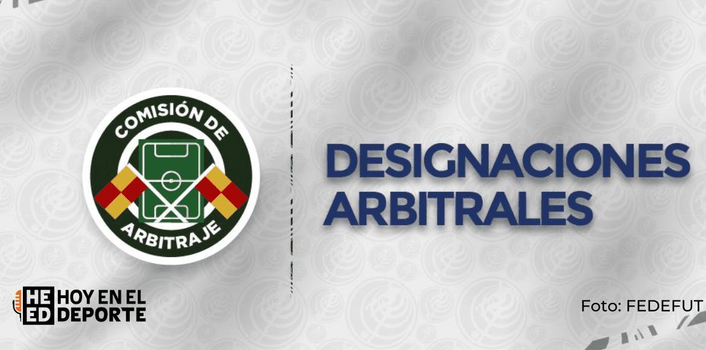 Definidos los árbitros para el arranque del Campeonato de Primera División