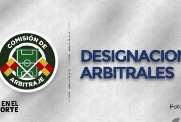 Listos los cuartetos arbitrales para segunda jornada del torneo nacional