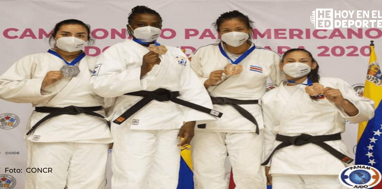 Diana Brenes feliz con la medalla de bronce pero sueña con Tokio 2021