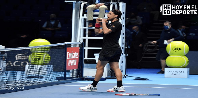 Thiem gana un duelo soberbio a Djokovic y espera rival en la final del Masters