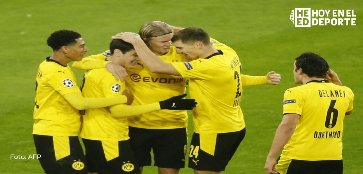 Borussia Dortmund y Haaland, al acecho del liderato del Bayern