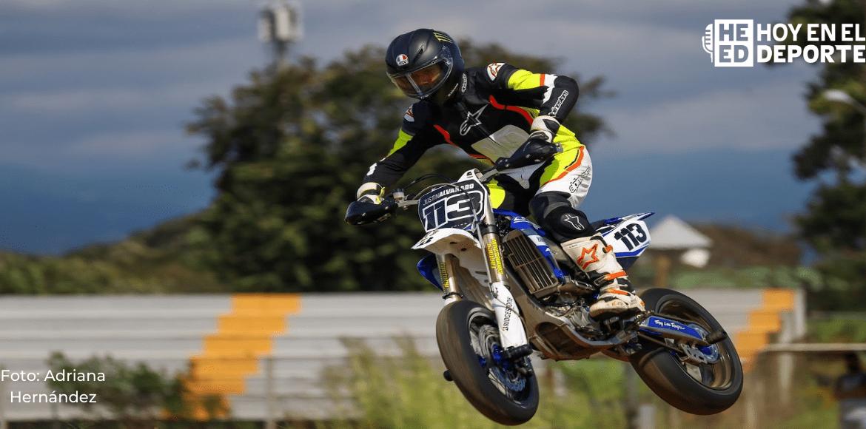 Justin Alvarado se adueña de la tercera fecha del Campeonato Nacional de Motovelocidad