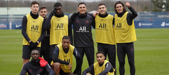 París SG golea 7-0 al Beveren belga en amistoso