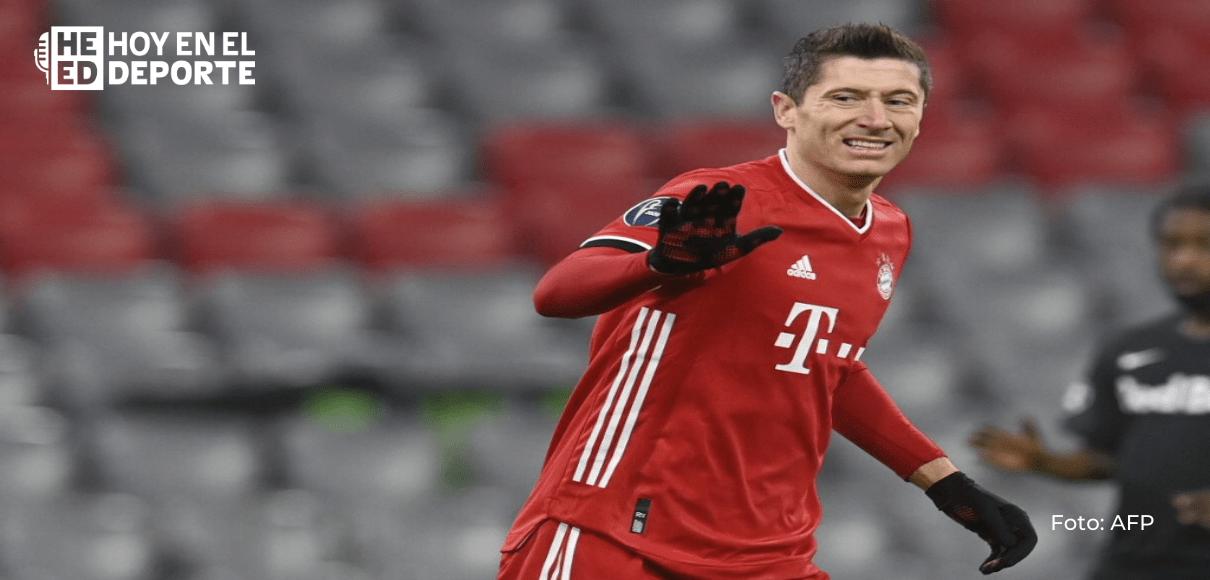 Lewandowski ayuda al Bayern a consolidar su liderato