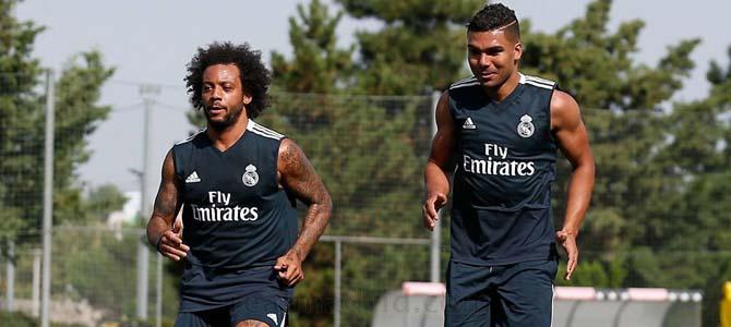 """Marcelo sufre una """"lesión muscular"""" en la pierna izquierda"""