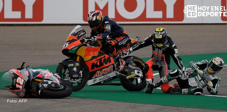 Joan Mir, campeón del mundo de MotoGP tras carrera de Valencia ganada por Morbidelli