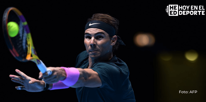 Nadal arrolla a Carreño y disputará la final de Barcelona contra Tsitsipas