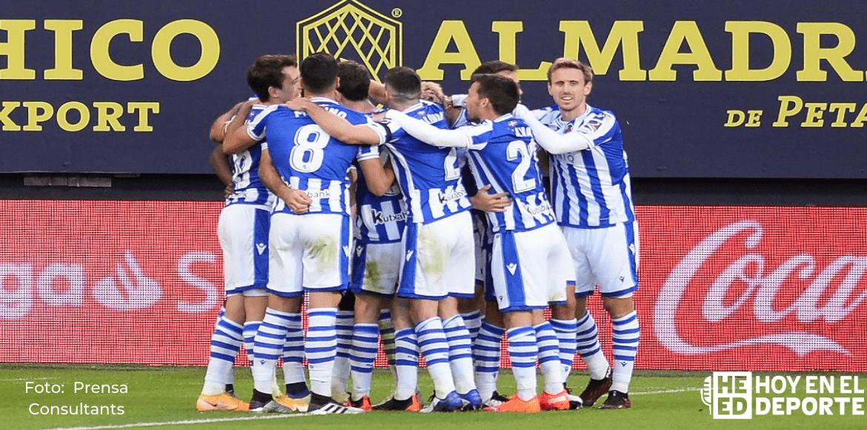 Real Sociedad se mantiene líder en solitario tras ganar 1-0 en Cádiz