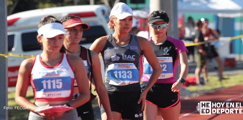 Atletas costarricenses rumbo a los Juegos Olímpicos de Tokio 2021.