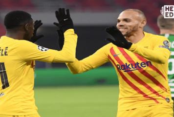 El Barcelona goleó 3-0 al Ferencvaros en la 'Champions'