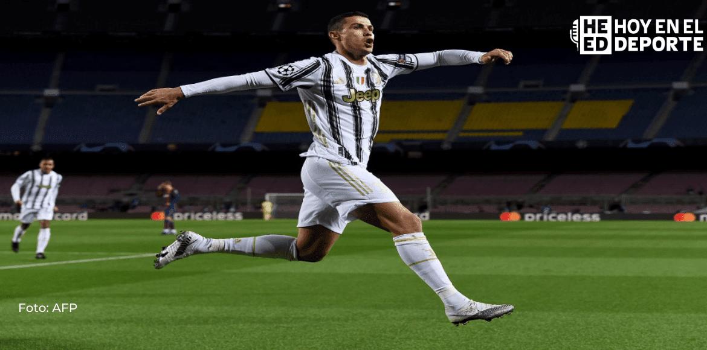 Doblete de Cristiano Ronaldo pone a la Juventus tercera en Italia