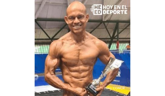 Campeonato Nacional de Fisicoculturismo: Evaristo Cortés logró su título 24