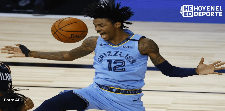 Morant sobresale en la NBA y Hawks cortan racha positiva de Miami