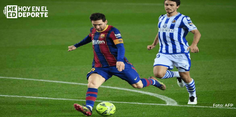 Messi, baja para la semifinal de la Supercopa