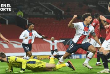 PSG sigue vivo en la 'Champions' tras vencer 3-1 al Manchester United