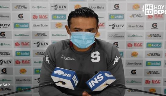 """Wálter Centeno: """"esto es fútbol y pronto saldremos del bache"""""""
