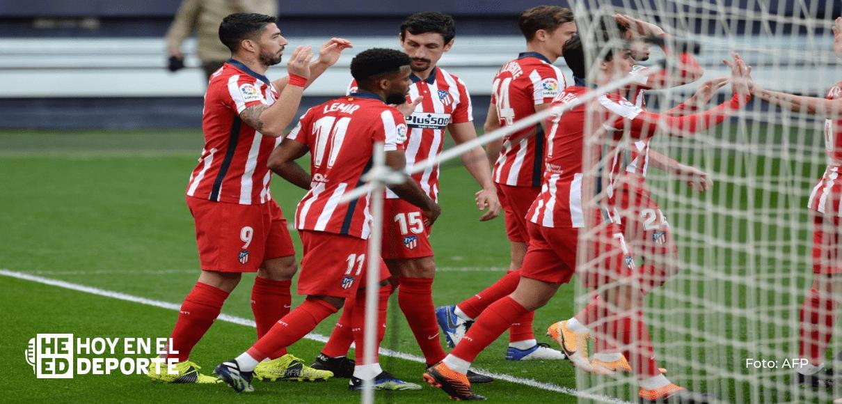 Pese a doblete de Luis Suárez, Atlético deja escapar dos puntos frente al Celta