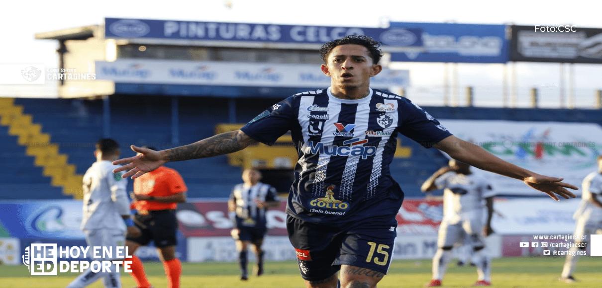 Esteban Alvarado paró todo, y Limón le sacó valioso empate a Cartaginés 1-1