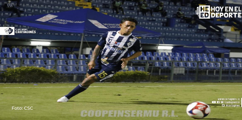 Un gol de Byron Bonilla le da primer triunfo a Cartaginés sobre Santos