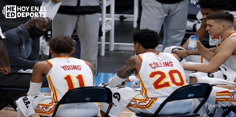 Hawks-Suns, el séptimo juego que pospone la NBA por COVID-19