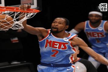 Durant (Nets) estará fuera durante receso por Juego de Estrellas de NBA