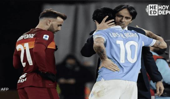 Luis Alberto decide el derbi romano para la Lazio