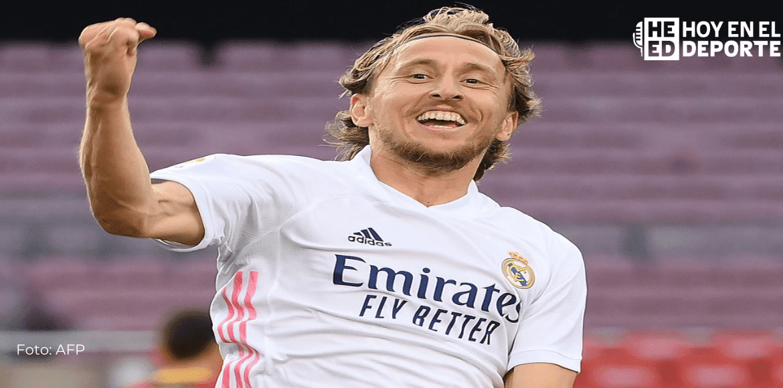 """Modric afirma que su renovación """"va en una buena dirección"""""""