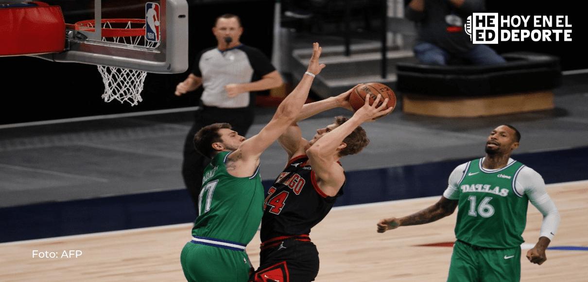 Bulls se sobreponen a histórico triple-doble de Doncic y Knicks golpean a los Celtics