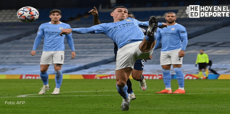 Foden mete al Manchester City en el podio provisional de la Premier League