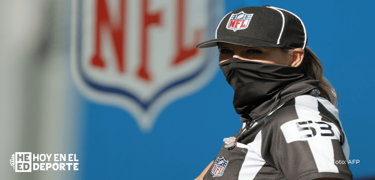 NFL: Sarah Thomas será la primera mujer en arbitrar el Super Bowl