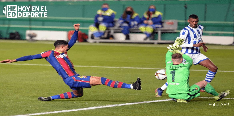 Ter Stegen impulsa al Barcelona a la final de la Supercopa