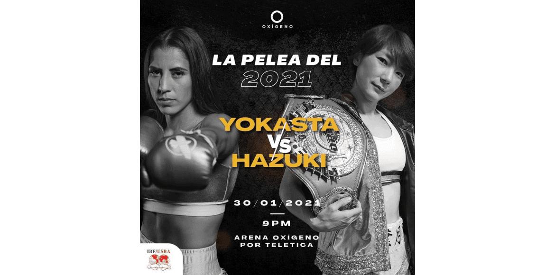 Yokasta Valle lista para su pelea del sábado ante Sana Hazuki de Japón