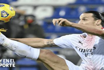 Ibrahimovic vuelve a colocar al AC Milan líder solitario de la Serie A