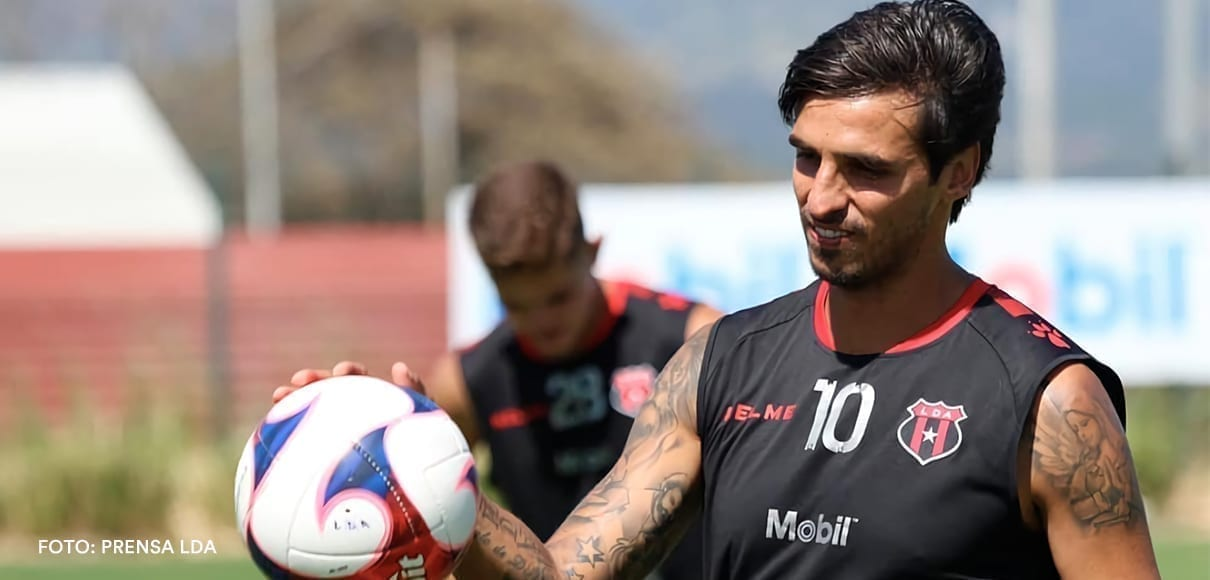 Bryan Ruiz cree que en Alajuelense trabajan similar al Sporting de Lisboa