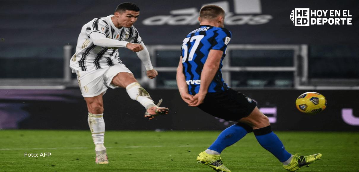 Juventus se mete en final de copa ante un Inter incapaz de hacer un gol