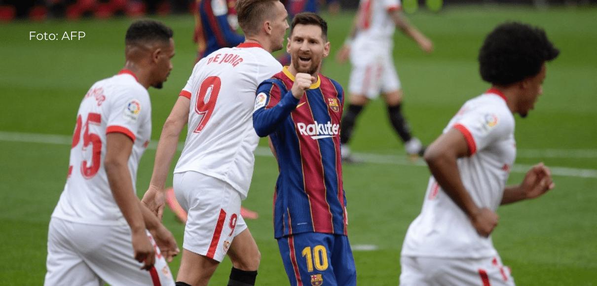 El Barcelona, a un paso del Atlético de Madrid